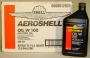Aeroshell W100 Oil Single Grade (12 Quart Case)